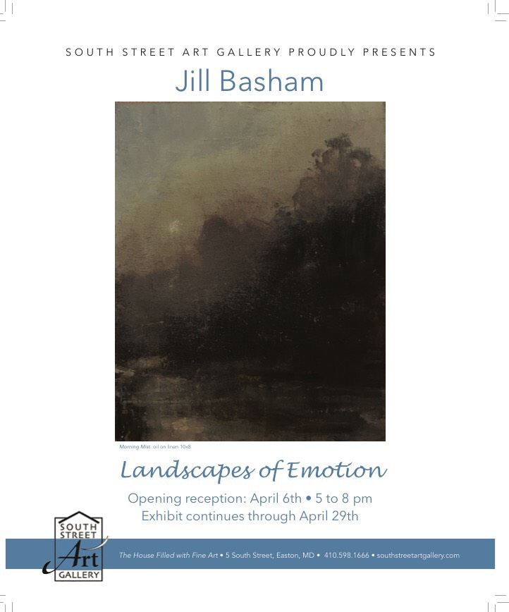 Solo Gallery Show featuring artist Jill Basham