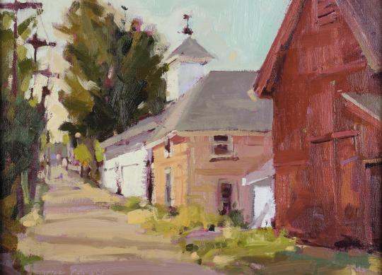 """""""Alley"""" by Jill Carver, 2007"""