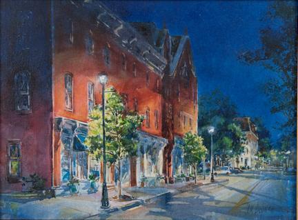 Artist Tom Lynch Plein Air Easton