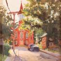 "Rita  Pacheco: ""Town Church"""