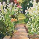 """David R. Csont: """"Neale's Garden Walk"""""""