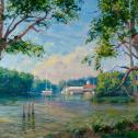 "John T. Eiseman: ""Afternoon on the Tred Avon"""