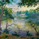 "John T. Eiseman: ""Morning on the Tred Avon"""