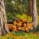 """Jonathan Gaetke: """"Log Pile"""""""