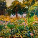 """Palden Hamilton: """"Cascading Flora"""""""