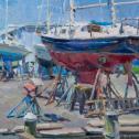 "Anastasia Dukhanina: ""Oxford Boatyard"""