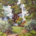 "Camille Przewodek: ""Tilghman Morning Garden"""