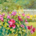 "Elizabeth Rhoades: ""Hibiscus in Sunshine"""
