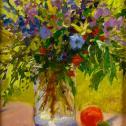 "Kathryn Riedinger: ""Orange and Blues"""