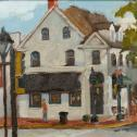 "J. Stacy Rogers: ""East Dover and harrison Street"""