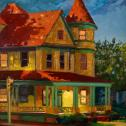 "J. Stacy Rogers: ""Goldsborough St. Evening"""