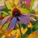 "Patrick Saunders: ""Cone Flower"""