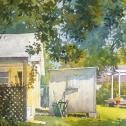 Richard R.  Sneary:  ̏Back Yards˝. Best Architectural Award, 2012, sponsored by Historical Society of Talbot County
