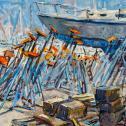 """Troy  Tatlock: """"Midday...Jacks About Boats"""""""