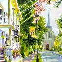 "Russell Jewell: ""God and Country"" Best Watercolor"