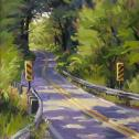 Shelby Keefe:  ̏Sun-Dappled Highway˝.