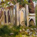 Doreen Tighe:  ̏Anchorge Farm Chapel Ruins˝.