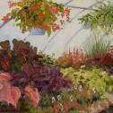 Karen Wood:  ̏Bay Hundred Botanical's Greenhouse˝.