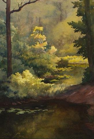 Artist Susan Lynn Plein Air Easton