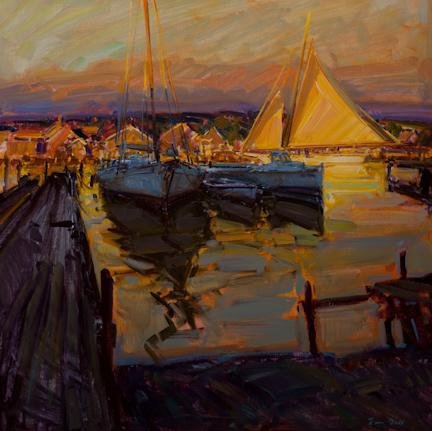 Artist Tim Bell Plein Air Easton