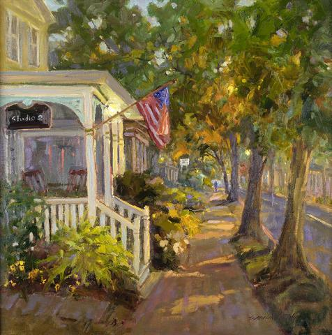 Artist Sara Linda Poly Plein Air Easton
