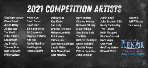 Competition Artists Roster 2021