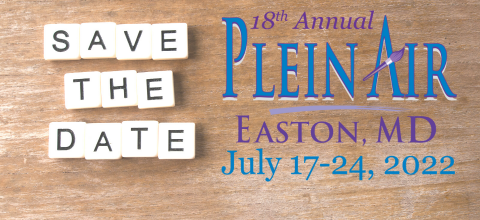Plein Air Easton 2022 dates are July 17-24