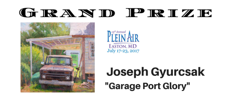 Grand Prize Winner Jospeh Gyurscak
