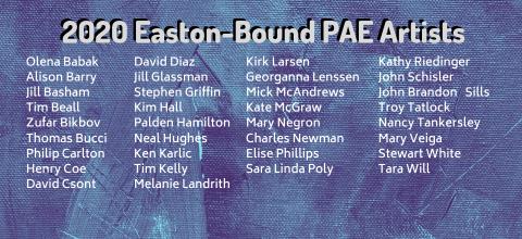 2020 Easton-bound Artists