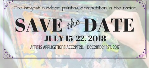 Save the Date for Plein Air Easton 2018