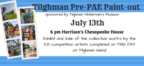 Tilghman Pre-Paint Out